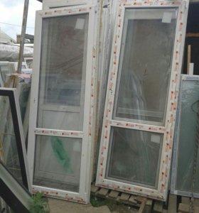 Дверь стекло стекло
