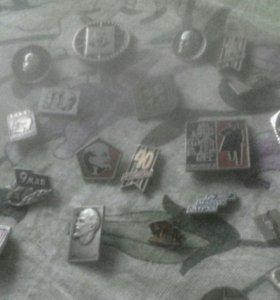 Значки СССР 50 рублей