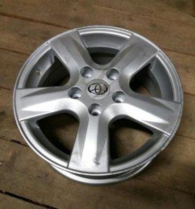 Диск колесный R15 литой TY35