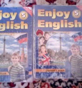 Учебники по английскому 5 класс