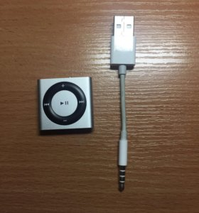 iPod Shuffle, grey, 2 Gb