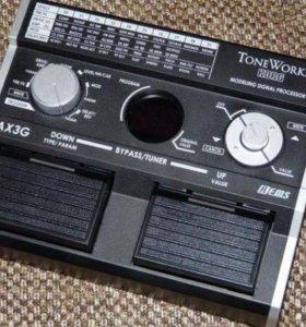 Гитарный процессор эффектов KORG AX3G