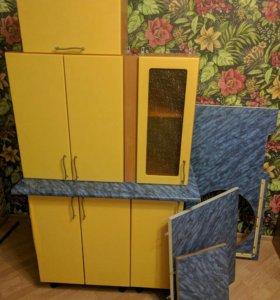 Кухонный гарнитур, кухня, кухонные шкафы