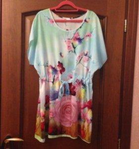Новая туника-платье