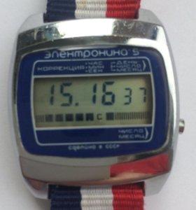 Часы наручные мужские Электроника 5