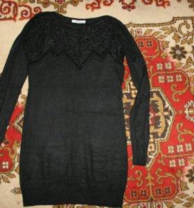 Платье по талии, в обтяжку