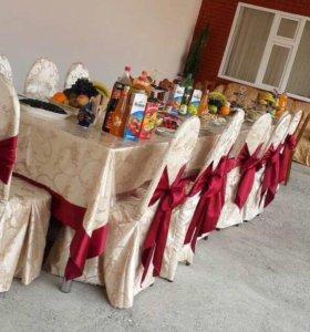 Столы,стулья и посуда на прокат