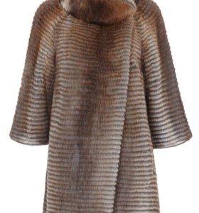 Меховое пальто-Шубка