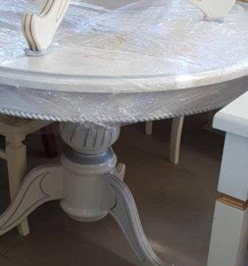 Стол круглый 85 см , 90 см и  1 м диаметр НОВЫЙ