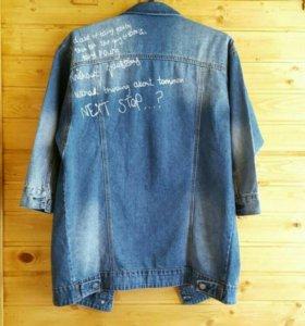 Новая джинсовая куртка