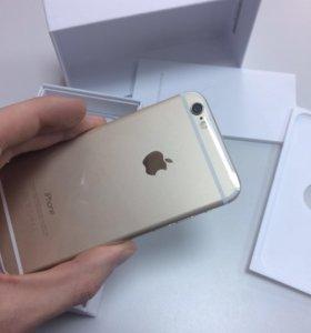 iPhone 6 на 16 гб золотой