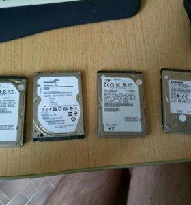 Жесткие диски для ноутбука