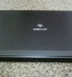 Новый мощный  ноутбук DEXP