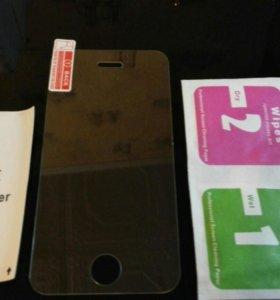 Защитные стекла iPhone 4/4s/5/5c/5s/6/6s+/7/7s+