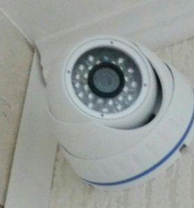 Комплект видео-наблюдения и просушки помещения