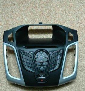 Штатная магнитолла форд фокус 3