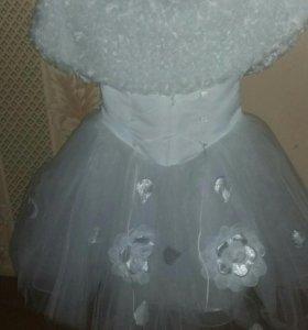 Детское платье на выпускной новое.