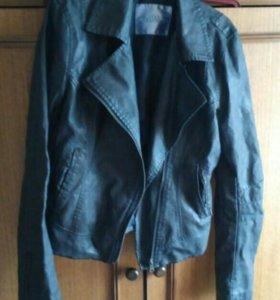 Коженая куртка косуха