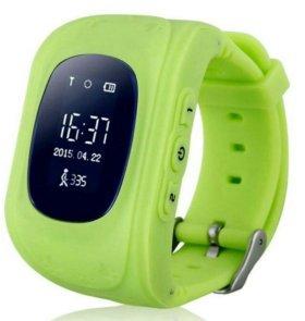 Детские умные смарт часы GPS Q50 Доставка+Настрой
