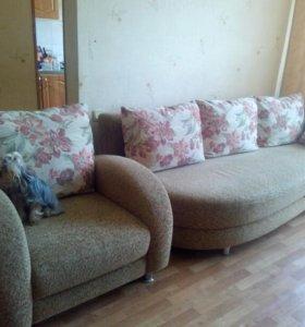 Диван+кресло.