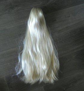 Волосы на прищепке