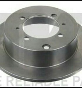 Galant 96-03 диск тормозной зад