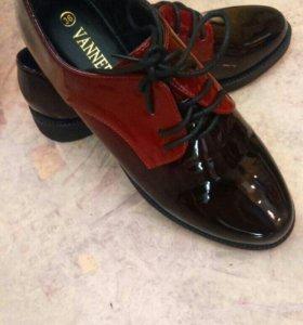 Лаковые туфли новые р.36