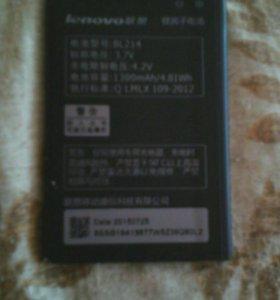 Продам.акб для телефона LENOVO BL.214.3.7V.1300mAh