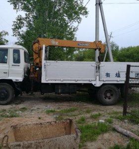 Услуги автокрана, Грузоперевозки до 5 тонн