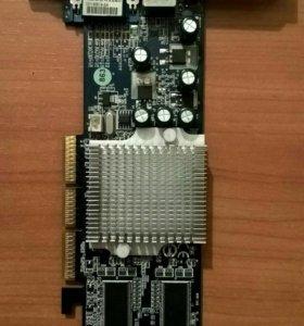 AGP видеокарта GeForce 4 MX440-8X D64M