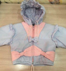 Куртка для девочки 1,5-2 года