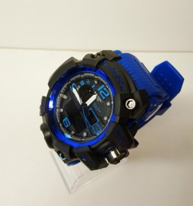 Мужские водонепроницаемые часы Джишок синий