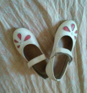 Туфли для девочки 18 см