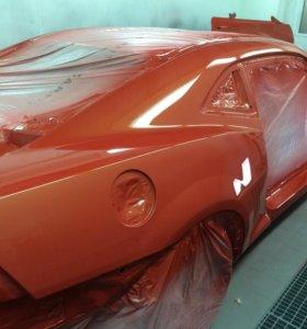 Кузовной ремонт, покраска авто, ремонт бампера