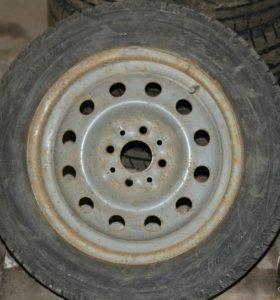 1 колесо R14 на ВАЗ