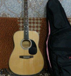 Гитара colombo с тонким грифом