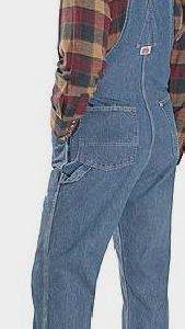 Новые мужские джинсовые комбинезоны на бретельках