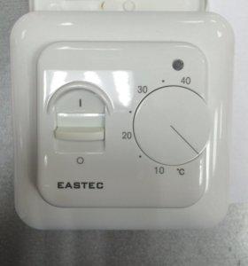 Терморегулятор с датчиком теплого пола