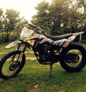 Кроссовкой мотоцикл irbis TTR 250