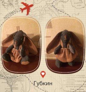 Зайка (текстильная игрушка)