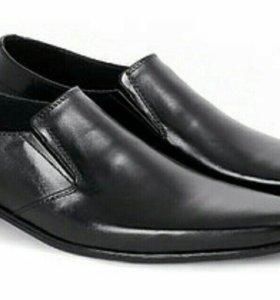 Туфли кожаные мужские.