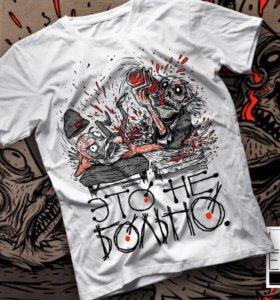 Sale!!! Новая крутая футболка