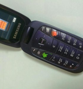 Раскладушка Samsung фиолетовый