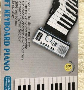 Резиновое электрическое пианино