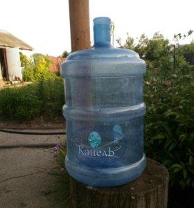 Бутыли V=20л, пластик, 30 штук.