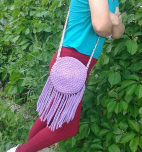Трикотажные сумочки на лето!
