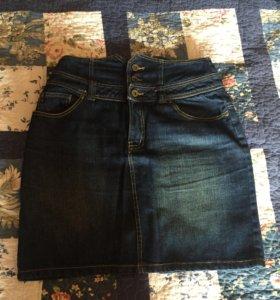 Новая джинсовая юбка orsay