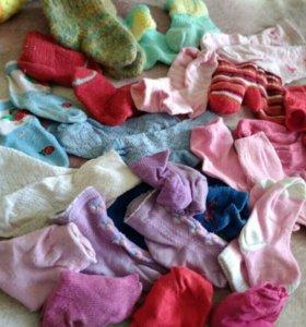 Пакет носков детских от новорожденного до 1,5 лет