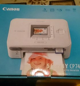 Фотопринтер Canon selphy cp 740