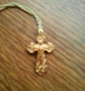 Медный крестик